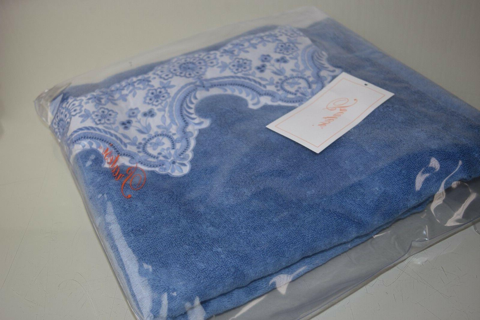 Pcs Luxury LOUVRE LACE Embroidered Blue