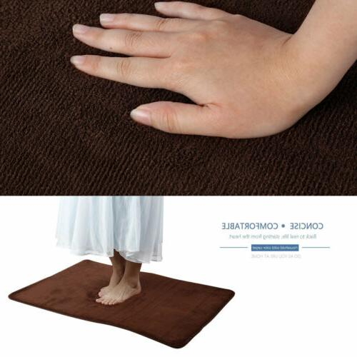 2xNon Slip Rubber Door Mats Washable Small Rug