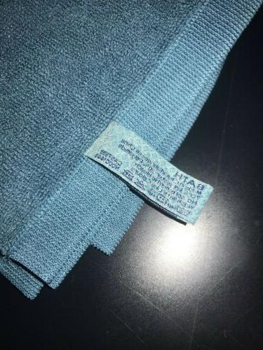 Norwex: 3 Set - Teal Bath Mat, Body and Hand Towel, New