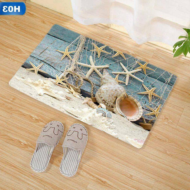 3D Long Non Slip Bathroom Area Carpet US