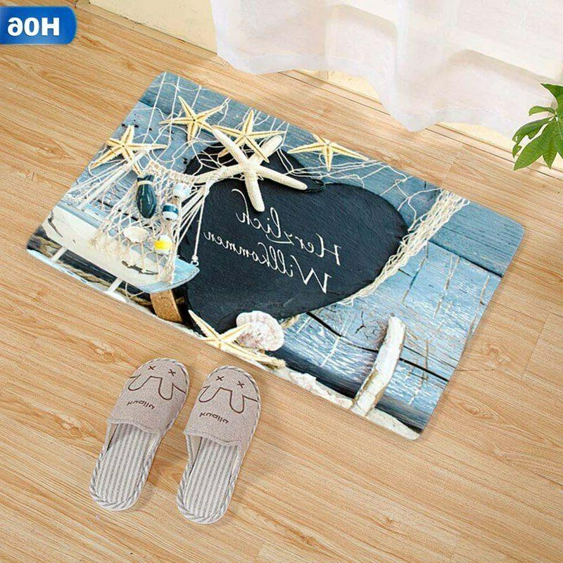 3D Long Flannel Non Slip Absorbent Carpet US