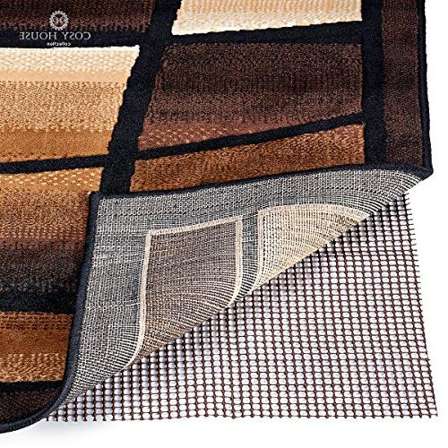Non-Slip Area Rug Pads by Cosy House - Fully Washable, Best
