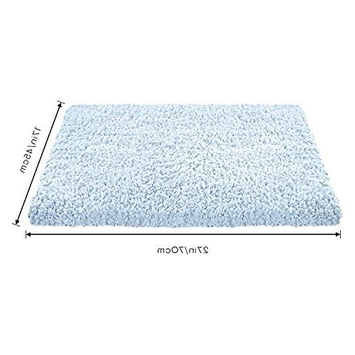 """Norcho 17""""x27"""" Indoor Absorb Rubber For Front Door Rugs Washable Light"""