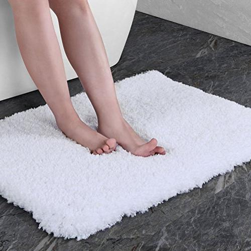 "Norcho 19"" Soft Shaggy Mat Non-slip Rug Luxury Bathroom Mats Water"