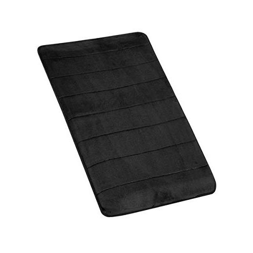 Soft Microfiber Memory Mat,Toilet Rug,with Increased Anti-Skid Washable Quickly Drying Bathroom