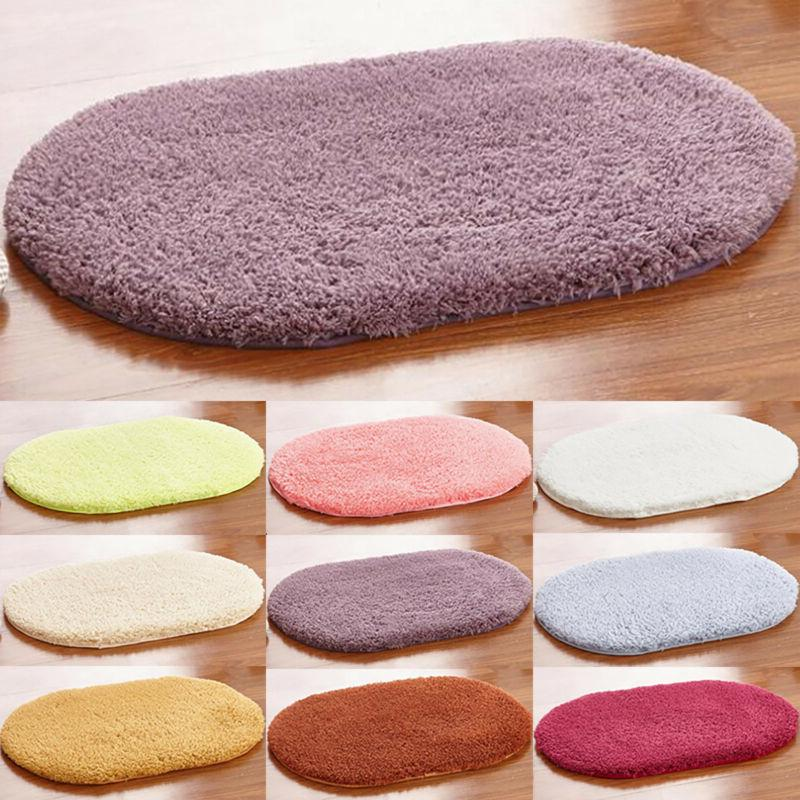 fluffy rugs anti skid absorbent shaggy area