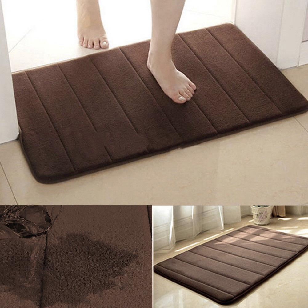 absorbent soft memory foam bathroom bedroom floor