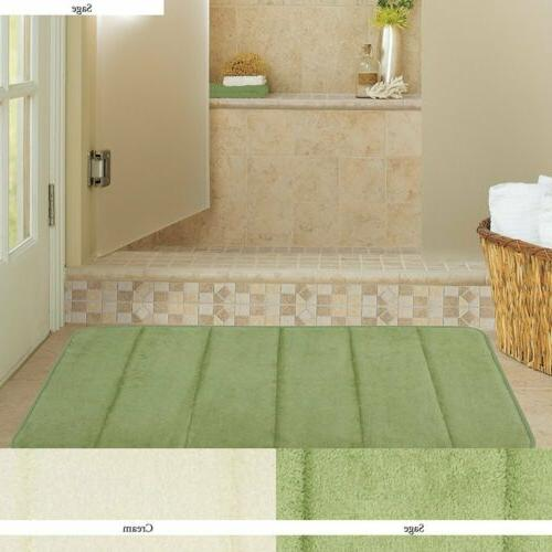 Absorbent Soft Memory Foam Mat Bath Bathroom Bedroom Floor S