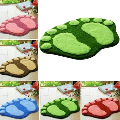Absorbent Soft Plush Carpet Bath Bathroom Bedroom Floor Show