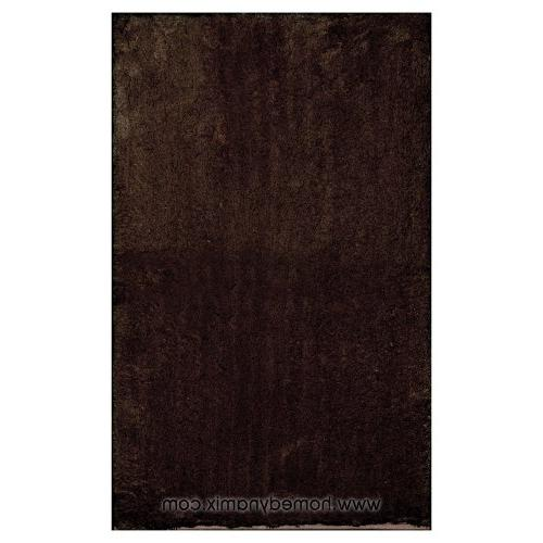 alpine chocolate brown bathroom mat