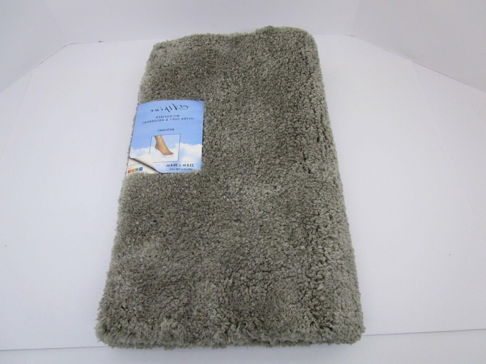 Home dynamix Alpine grey Bathroom  Bath Mat Absorbent and Ul