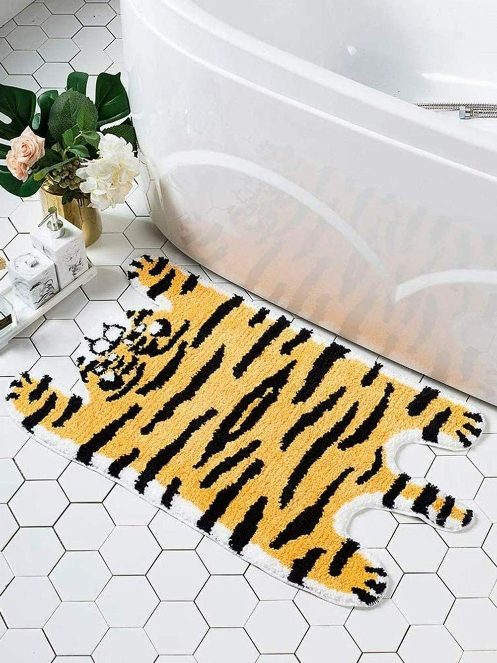 Animal Rug Animals Bath Mat Area Rug for Bedroom