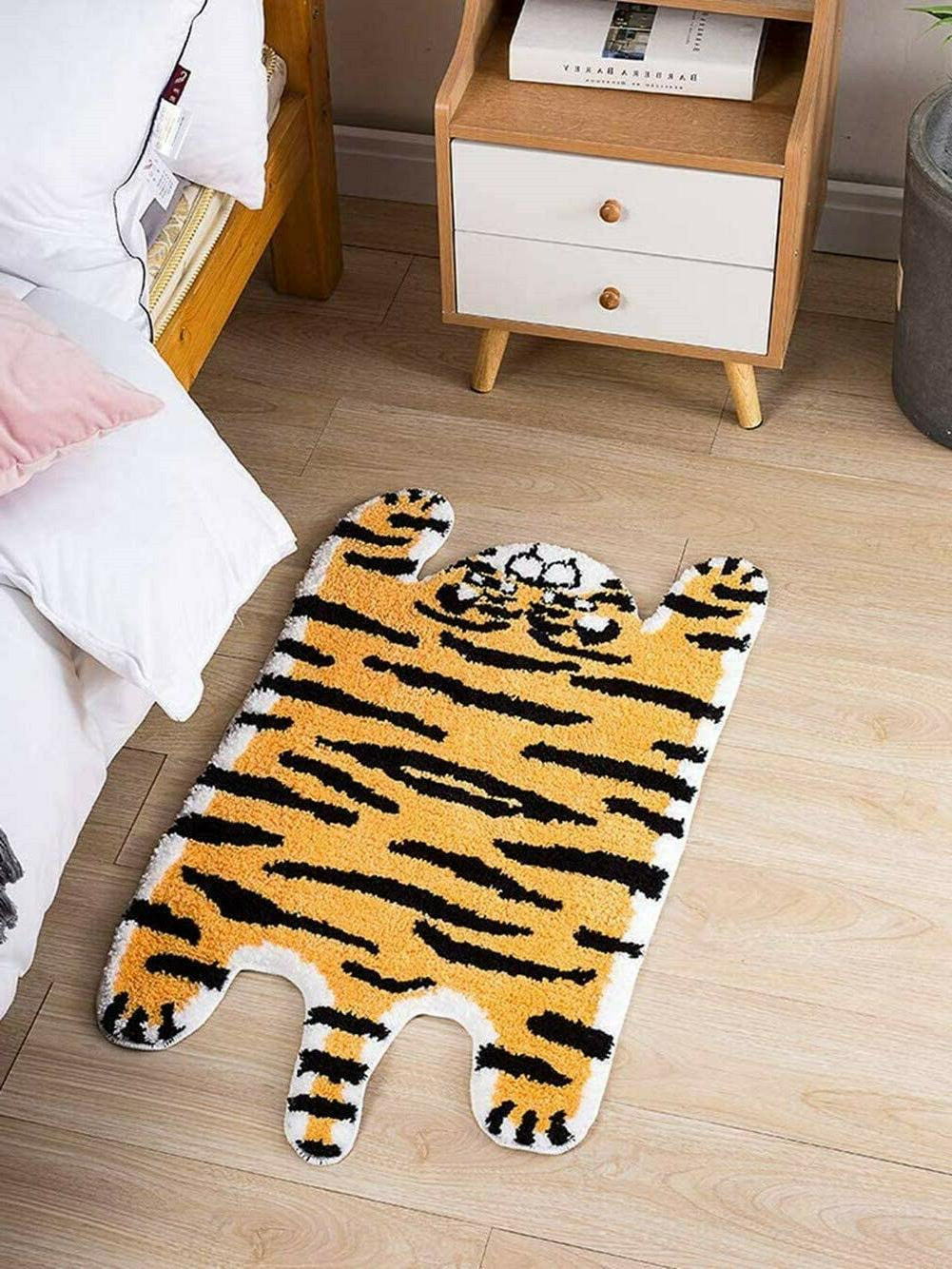 Animal Rug Tiger Animals Rug for Kitchen
