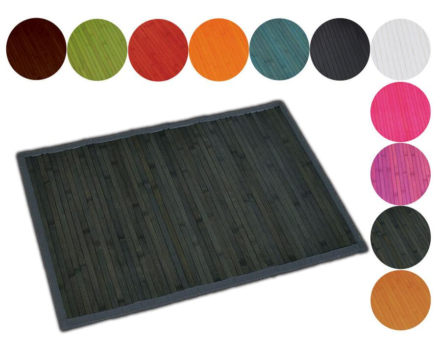 "Evideco Bamboo Mat Anti Slippery 31.5l X 20""w solid colors B"