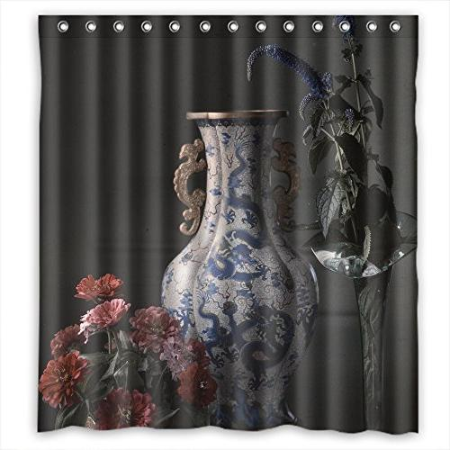 bath curtains famous classic painting