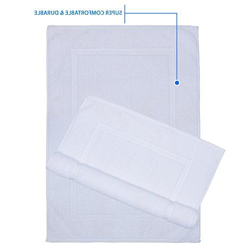 Alurri Set - Pack White Step Out Reversible Towel Like | Soft Cotton Machine Super