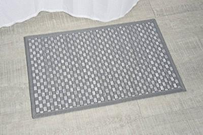 EVIDECO Bath Mat Checkerboard
