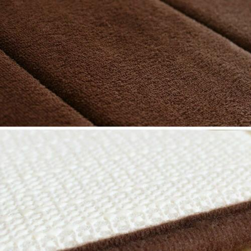 Bath Rug Non-slip Soft Memory Foam Carpet Floor