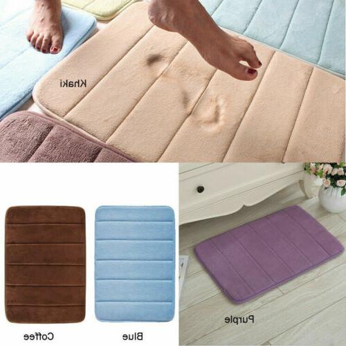 Bath Rug Absorbent Soft Memory Carpet Home Floor Gift