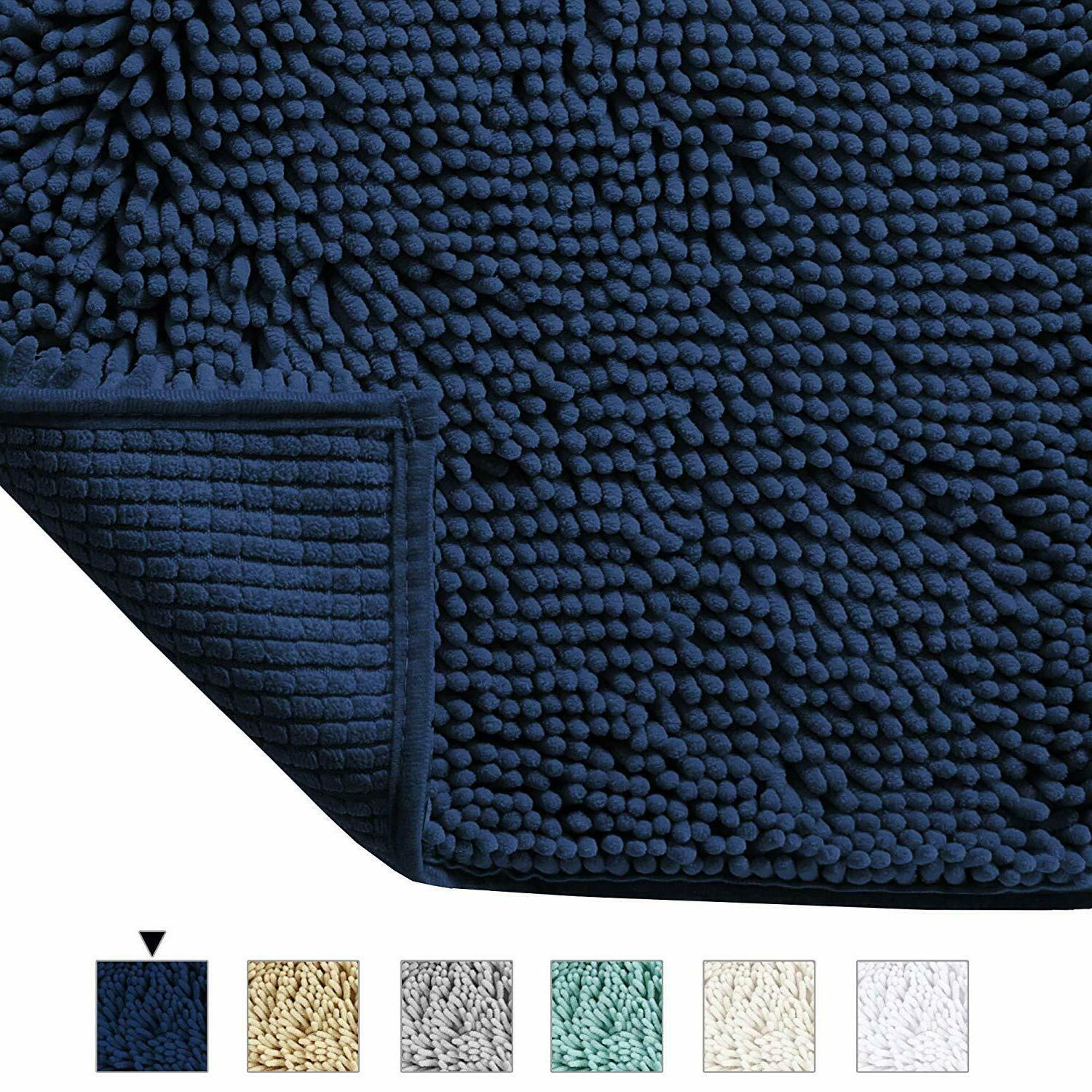 Bathroom Rug Shower Mat Soft Microfiber Non-Slip