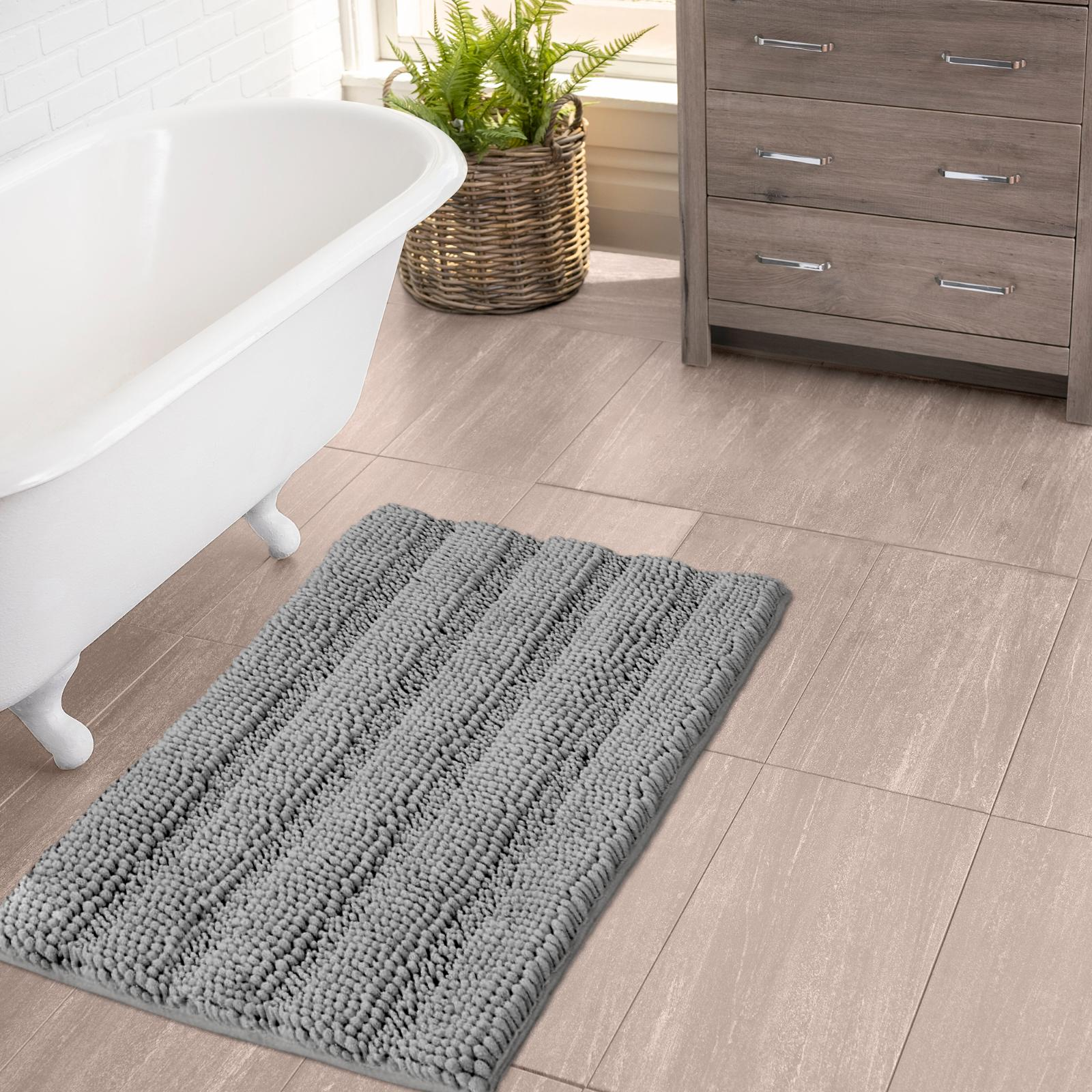 bathroom rugs by extra soft striped non