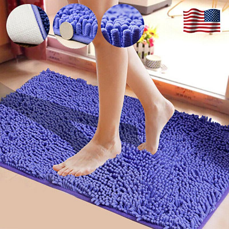 bathroom shower rugs carpet soft microfiber shaggy