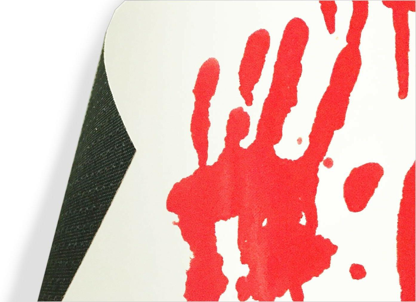 Blood Bath changing mat red when