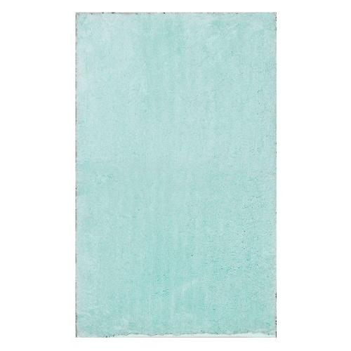 blue alpine bathroom mat