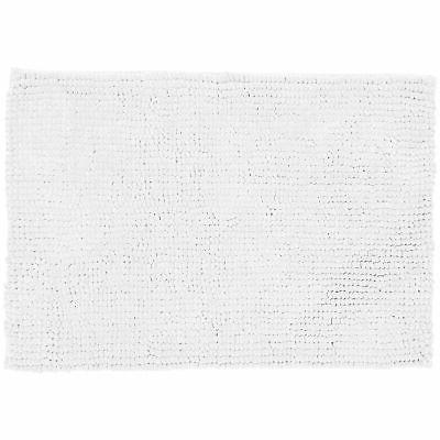 AmazonBasics Chenille Memory Foam White, Large New