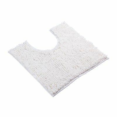 VDOMUS Contour Bath Rug Soft Shaggy U-shaped Toilet Floor Ma