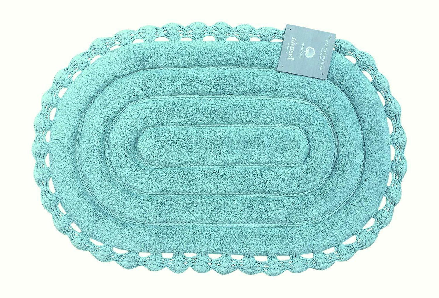 echo oval aqua spa blue