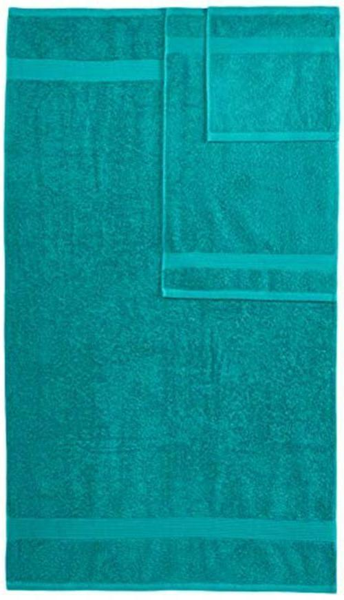 AmazonBasics Fade-Resistant 6-Piece Cotton Towel Set , Colors