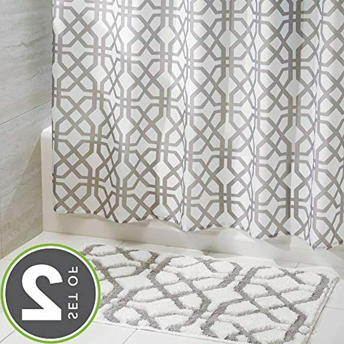 mDesign Fretwork Curtain Accent