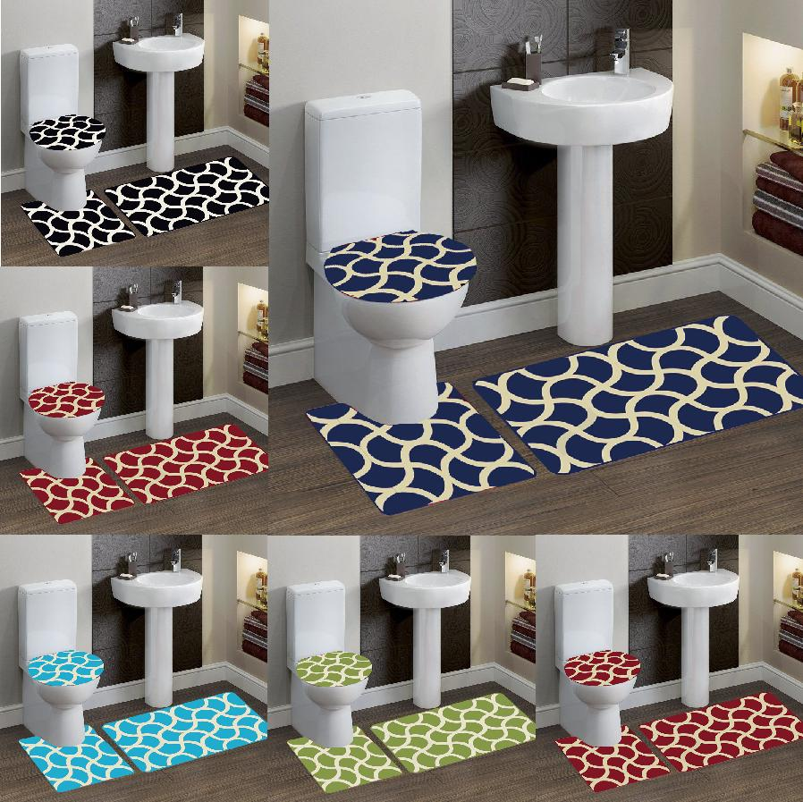 geometric design 7 bathroom bath contour nonslip