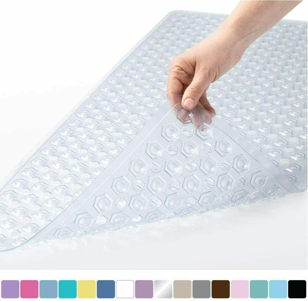 Original Patented Bath, Shower, Tub Mat, 35x16, Machine Wash
