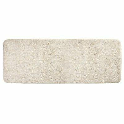 heathered soft microfiber x long accent rug