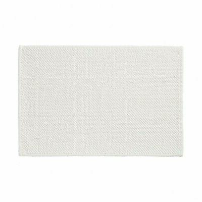 indian cotton blend chenille bath mat m