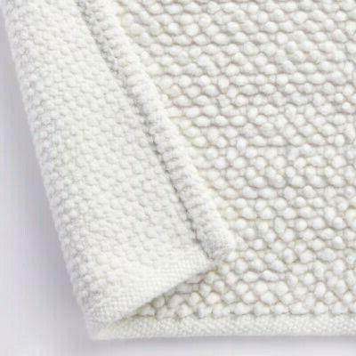 MUJI Indian cotton chenille Bath size off white 45 x 70cm