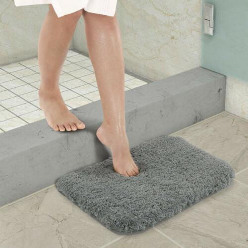 Lifewit Rug Bath Mat Non-Slip Rubber Soft US