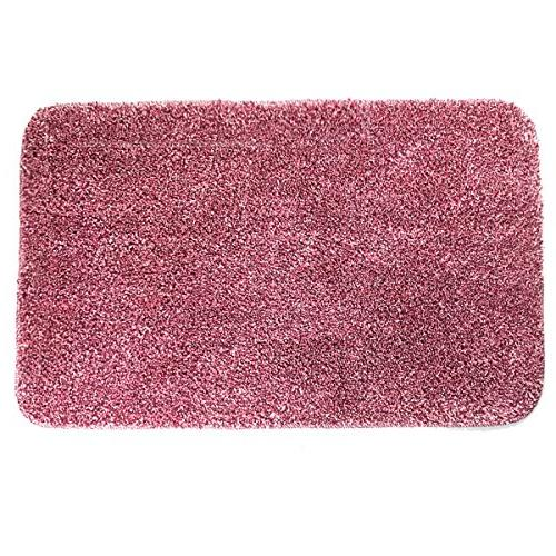 Yimobra Lively Mats 31.5 X Inch ,Soft,Non slip,Microfiber with Pink