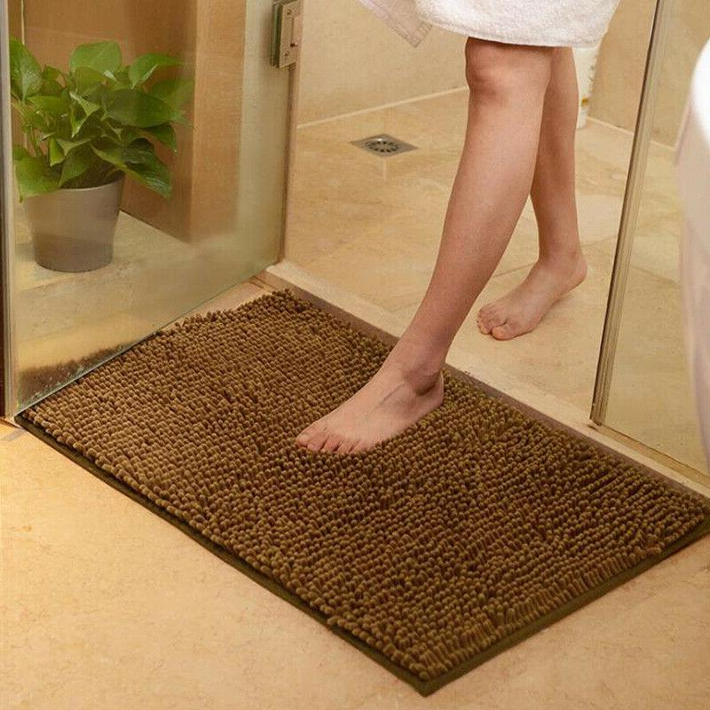 Long Microfiber Slip Bath Bathroom Shower