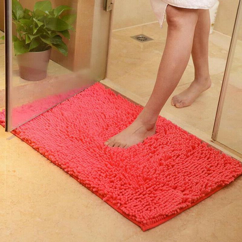 Long Slip Bathroom Carpet