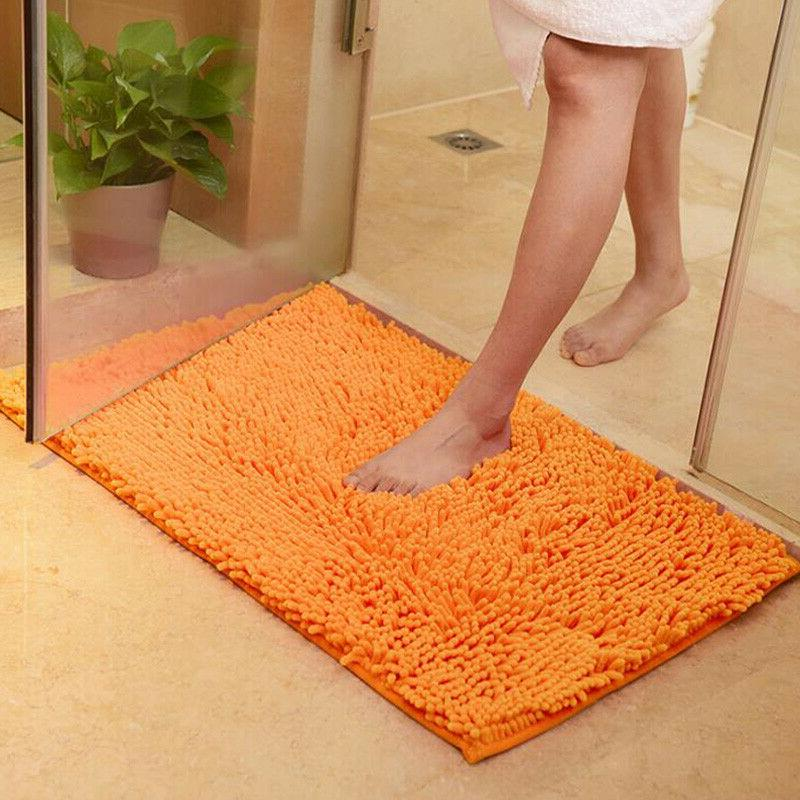 Long Non Slip Bathroom Shower Rugs