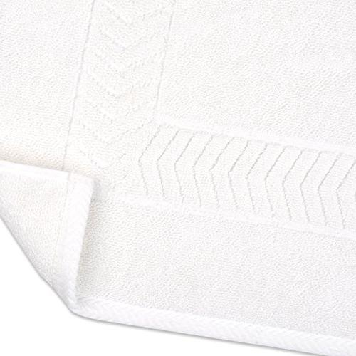Bamsilk Mats-Banded Luxury Towel-like,Heavy Weight 1120GSM,20 by Inch,Hotel Spa Bathroom of
