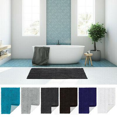 luxury soft plush shaggy bath mat thick