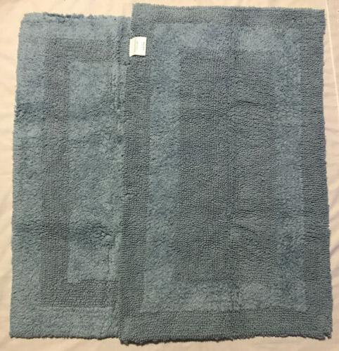 "Cotton Rug for Bathroom, 34"" NEW"