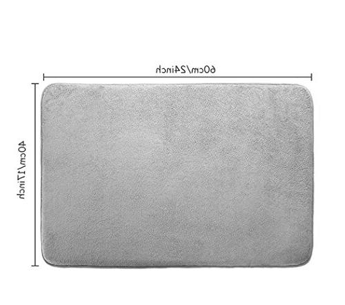 Memory Foam Mat Non Slip Shower with Soft Maximum Absorbency Quickly Carpet