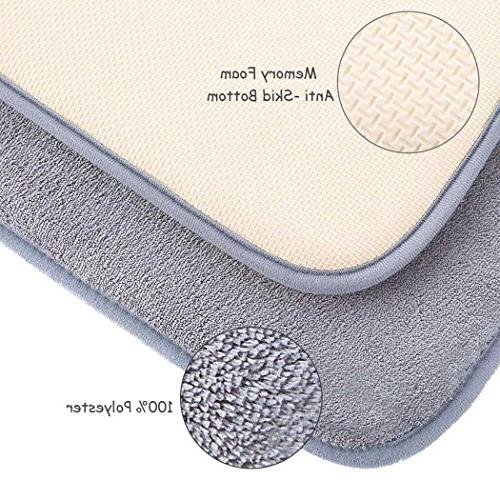 Memory Foam Bath with Soft Absorbency Rug Quickly Carpet