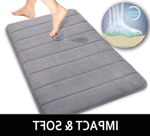 Yimobra Bath Mat 31.5 by Absorbent,Soft,Comfortable,Non-Slip,Thick,Machine for Bathroom