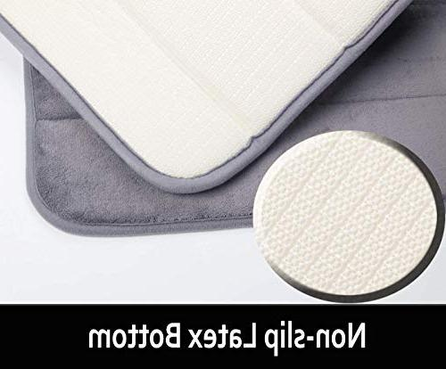 Yimobra Original Foam Bath Large 31.5 Absorbent,Soft,Comfortable,Non-Slip,Thick,Machine for Bathroom